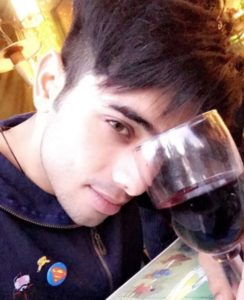Ruslaan Sayed Drinking Alcohol