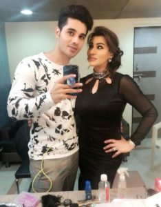 Ruslaan Sayed With Actress, Shilpa Shinde