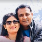 Sagar Karande With His Wife