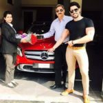 Shivashish Mishra with his car