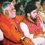 Shivashish Mishra with his father
