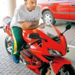 Shoaib Akhtar On His Honda CBR Fireblade