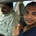 Shoaib Akhtar in His Honda Civic