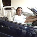 Shoaib Akhtar in His Mercedes SL (R129)