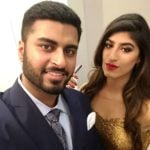 Shreya Mehta With Her Brother