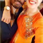 Shreya Mehta With Her Father