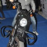 Tusshar Kapoor riding Bike