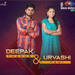 Urvashi Vani with Deepak Thakur in Bigg Boss 12