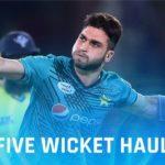 Usman Khan's 5 Wicket Haul