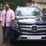 Vivek Oberoi with his Mercedes Benz GLS