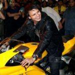 Vivek Oberoi riding his Ducati 1098