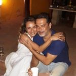 Adhuna Bhabani With Nicolo Morea