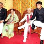 Ajinkya Deo with his parents and brother Abhinay Deo