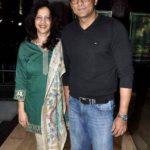Ajinkya Deo with his wife Arti Deo