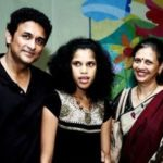 Ajinkya Deo with his wife Arti Deo and daughter Tanaya Deo