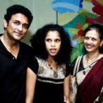Ajinkya Deo with his wife Arti Deo and daughter Tanaya Deo