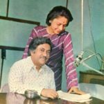 Ameen Sayani with his Wife
