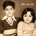 Anuraag Muskaan's childhood photo with his sister