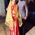 Ashish Gole with his sister Ashwini Gole