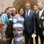 Denis Mukwege With His Family