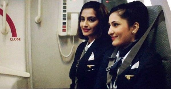 Eisha Chopra as Debina in the film 'Neerja' (2016)