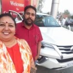 Anita Devgan with her car