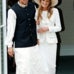 Jemima Goldsmith with her ex-husband Imran Khan