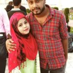 Juhi Aslam with her husband