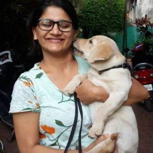 Jyoti Malshe Dog Lover