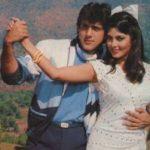 Kimi Katkar with Govinda