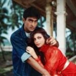 Kimi Katkar with Mohnish Bahl
