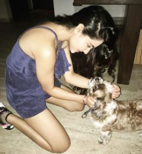 Malvi Malhotra- Animal Lover