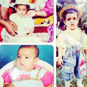 Malvi Malhotra- Childhood Pictures