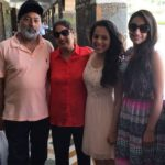 Manleen Rekhi with her parents and sister