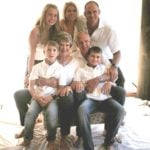 Matthew Hayden with his Family