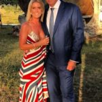 Matthew Hayden with his Wife