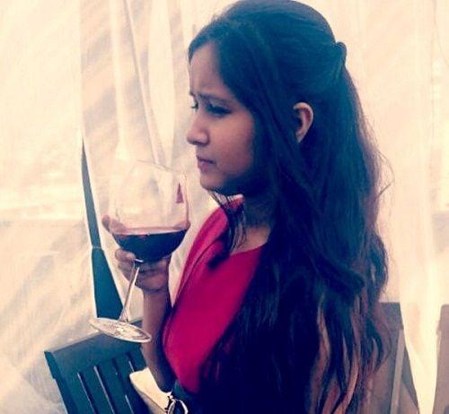Mugdha Meharia drinks alcohol