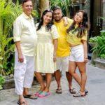 Mugdha Meharia with her family