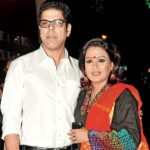 Murali Sharma with his wife, Aswani Kalsekhar