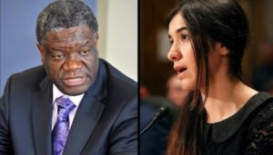 Nadia Murad and Denis Mukwege were awarded Noble Peace Prize