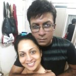 Nitin Bali with his wife Roma Williams