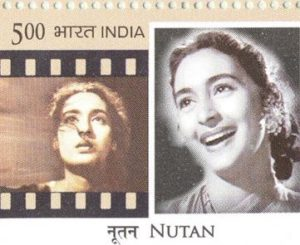 Nutan Image on Indian Postage Stamp
