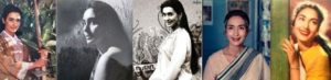 Nutan in different roles