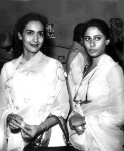Nutan with Smita Patil
