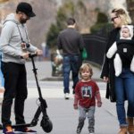 Olivia Wilde with her Fiance and Children
