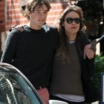 Olivia Wilde with her brother