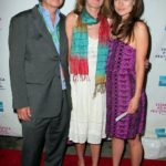 Olivia Wilde with her parents
