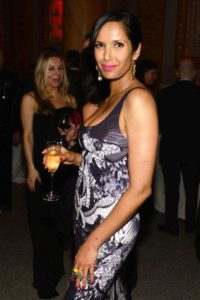 Padma Lakshmi drinking Alcohol