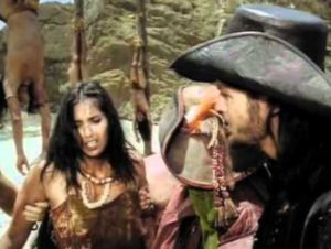 Padma Lakshmi in Pirates Blood Brothers Caraibi