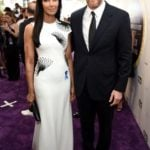 Padma Lakshmi with Adam Dell